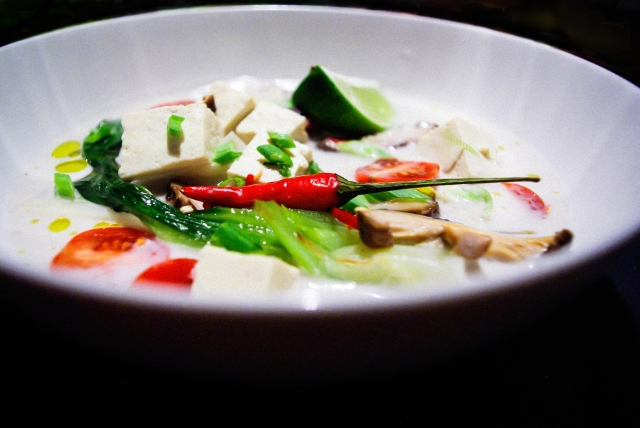 Tom Kha Tofu | @vivrepourMANGERpourvivre.wordpress.com