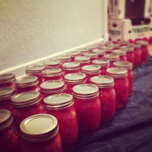 conserves de tomates maison | @VivrepourMANGER