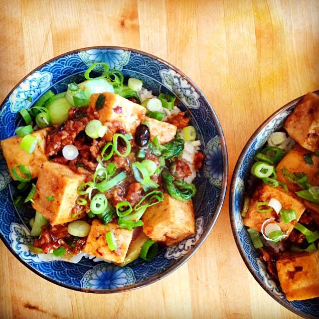 Vivre pour manger Ma po Tofu